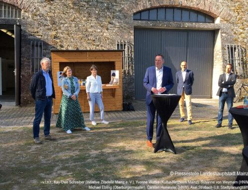 Auftakt zur Machbarkeitsstudie Landesgartenschau Mainz 2026
