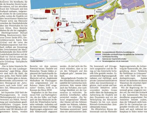 Online-Bürgerbeteiligung in Mainz mit ca. 180 Teilnehmenden