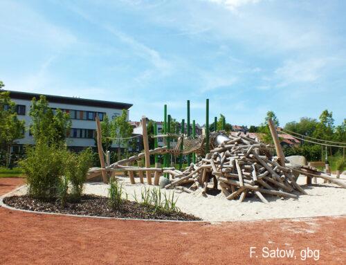 Auenlandschaft für Kinder – Neuer Spielplatz an der Pippelsburg