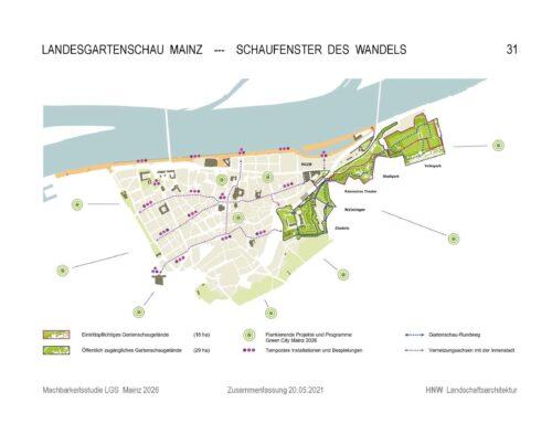 Stadtrat von Mainz beschließt Bewerbung für die Landesgartenschau